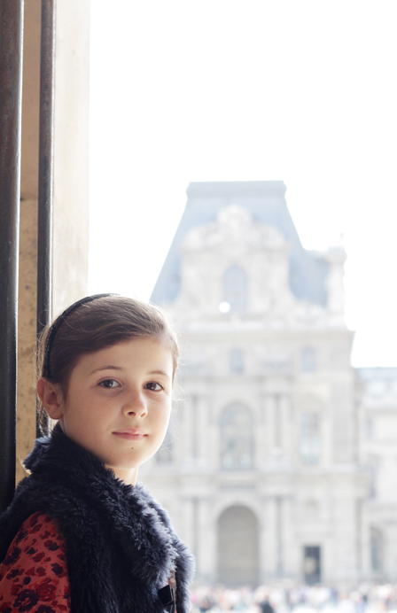 Fifi, a Child Model in Paris