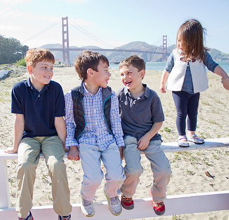 On Location: Extended Family in San Francisco